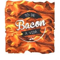 Mouse Pad Bacon Formato - Gorila Clube