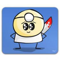 Mouse Pad Dr. Pepper Peppinho do Mal - Azul - Único - Gorila Clube