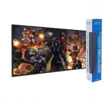 Mouse Pad Gamer Overwatch - Extra Grande 70x35 Cm 3mm - Exbom -