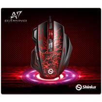 Mouse pad gamer pequeno - sh-pad-a7 25x29 - Shinka