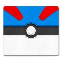 Mouse pad Pokemon Great Pokebola - Azul - Único - Gorila Clube