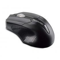 Mouse sem fio 2.4 GHZ USB Box Multilaser Preto - MO264 -