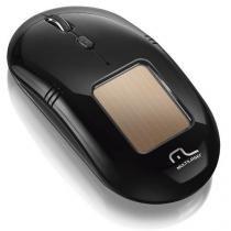 Mouse Sem Fio 2.4ghz Super Laser Solar 2000 Dpi Preto Multilaser - MO199 - Multilaser