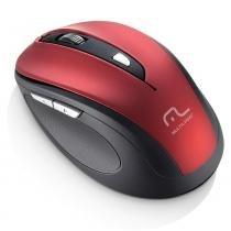 Mouse sem Fio Comfort 6 Botões 2.4Ghz USB Vermelho MO239 - Multilaser - Multilaser