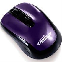 Mouse Suica Sem Fio Roxo 0047 Bright -