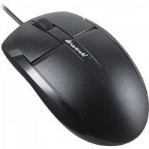 Mouse usb 1000dpi om-101bk preto fortrek -