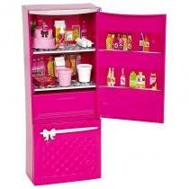 Móveis Básicos Barbie - Geladeira - Mattel - Mattel