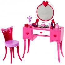 Móveis Básicos Barbie - Penteadeira - Mattel - Mattel