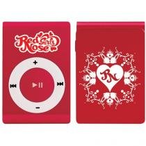 MP3 Player 4GB Girls - Red Nose