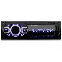 MP3 Player Automotivo Multilaser New One Bluetooth 1 Din USB SD Rádio FM AUX P3319 -