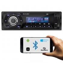 MP3 Player Automotivo Multilaser Talk P3214 Bluetooth 1 Din USB SD AUX MP3 WMA FM 4x45 WRMS -