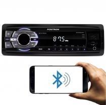 MP3 Player Automotivo Positron SP2310 BT 1 Din Bluetooth USB Micro SD AUX MP3 WMA FM RCA 4x20 WRMS -