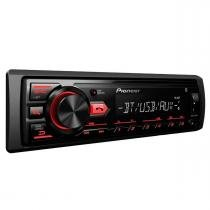 MP3 Player com Rádio AM/FM/USB/Bluetooth Pioneer MVH-298BT - Pioneer