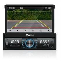 """MP3 Player com Tela 7"""" MTC6613 e Câmera de Ré Quatro Rodas - Quatro Rodas"""
