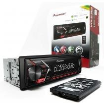MP3 Player Pioneer MVH-S108UI USB Auxiliar Frontal RDS -