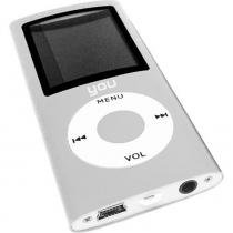 MP4 Player Colors Prata SD / FM / E-BOOK / Gravador + Cartao de Memoria 8GB - Importado