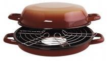 Multi Grill Light Esmaltado 4 L Marrom Ewel - Comprenet