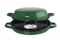 Multi Grill Light Esmaltado 4 L Verde Ewel - Comprenet