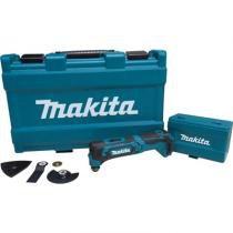 Multiferramenta makita 12v cxt cortadora e lixadeira 3 em 1 com maleta e acessorios sem bateria e ca - Makita