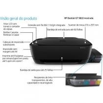 Multifuncional HP Deskjet GT 5822 Tanque de tinta - All in One Colorida WI-FI LCD