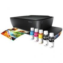 Multifuncional HP Deskjet GT 5822 Tanque de Tinta - Colorida LCD + 5 Garrafas de Tinta