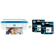 Multifuncional HP DeskJet Ink Advantage 3776 - Jato de Tinta Display + 2 Cartuchos de Tinta