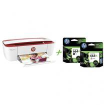 Multifuncional HP DeskJet Ink Advantage 3786 - Jato de Tinta Colorida + 2 Cartuchos de Tinta