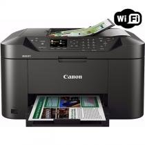 Multifuncional Jato de Tinta Color Canon Maxify MB2110 Wireless C/ 01 Bandeja 110V -