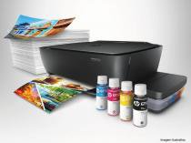 Multifuncional Jato de Tinta Color Hpdeskjet GT 5822 Tanque de Tinta IMP Copia DIG Wifi 20PPM P0R22AAK4 -