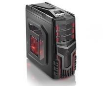 Multilaser gabinete gamer sem fonte cooler com led ga124 -