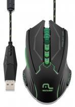 Multilaser Mouse Gamer Metal War 8 Botões 2500dpi USB com LED MO218 - Multilaser
