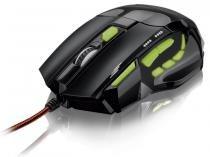 Multilaser Mouse Óptico Xgamer Fire Button USB, 7 Botões, 2400 DPI - MO208 - Multilaser