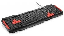 Multilaser Teclado Gamer Multimídia Red USB - TC160 - Multilaser