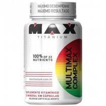 Multimax Complex - 90 Cápsulas - Max Titanium -
