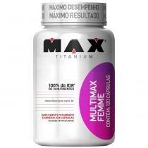 Multimax Femme 120 Cápsulas - Max Titanium - Natural - Max Titanium