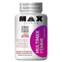 Multimax Femme 60 Cápsulas Max Titanium - Max Titanium