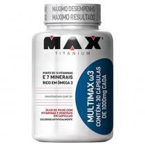 Multimax Ômega 3 - 30 Cápsulas - Max Titanium - Max Titanium
