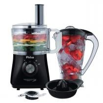 Multiprocessador All In One + Citrus 800W Preto Philco - 110 Volts - Philco