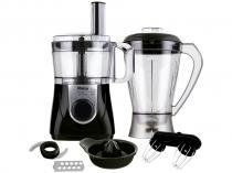 Multiprocessador de Alimentos Philco - Preto All in One 6 em 1 900W