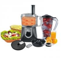 Multiprocessador Philco All In One + Citrus 800W Preto/Prata - 220V -