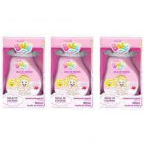Muriel Baby Água Colônia Rosa 150ml (Kit C/03) -