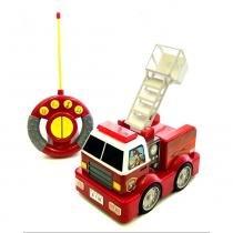 My First Fire Truck R/C Caminhão de Bombeiros NKOK 80051 - Edimagic