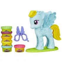 My Little Pony / Pônei Play-Doh Rainbow Dash B0011 - Hasbro - Hasbro