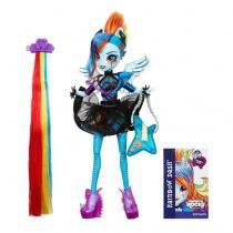 My Little Pony Rainbow Rocks Rainbow Dash Penteado de Arrasar - Hasbro -