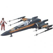 Nave X-wing com Boneco Hasbro - Disney Star Wars
