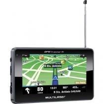 Navegador GPS com TV/RADIO FM/LEITOR de USB/SD GP034 Preto Multilaser -