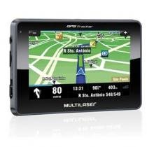 Navegador GPS Multilaser 4,3 com Alerta de Radar + Mapas 3D GP033 -