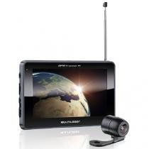 "Navegador gps multilaser 7"" tracker iii camera de ré tv digital fm gp039 -"