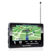 Navegador gps multilaser 7 tracker iii  gp038  com tv fm -