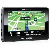Navegador GPS Multilaser Tracker III GP035 LCD com GPS / TV e Camera de RE -
